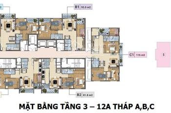 Tôi bán gấp chung cư Xuân Phương Tasco căn 1103 tòa C, dt 82.5m2, 21tr/m2 (bao phí). LH 0902215707