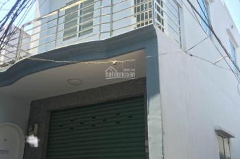 Cần tiền bán nhà hẻm 1 sẹc Hậu Giang gần Trần Văn Kiểu, 1 trệt 1 lầu, có cửa hông