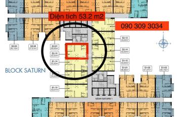 Khách kẹt tiền bán nhanh căn hộ 2 phòng ngủ 54m2 giá 1 tỷ 570tr, giá rẻ nhất thị trường hiện tại