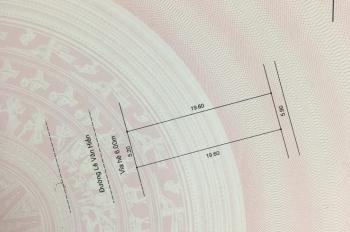 Bán đất mặt tiền đường Lê Văn Hiến, đối diện BV 600 giường. Hướng Tây, 108,7m2