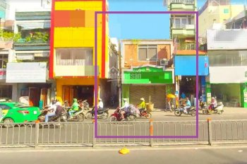 Cần cho thuê nhà góc 2 mặt tiền đường Bạch Đằng khu đông dân cư Q. Bình Thạnh