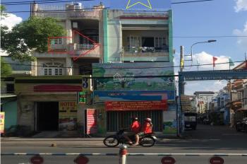 Nhà cho thuê góc 2 MT Đ.Lê Văn Qưới q.bt- sầm uất