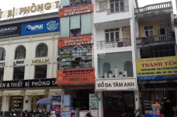 Cho thuê nhà mặt phố Trần Phú - Hà Đông 90m2x 6 tầng, mt 4m, thông sàn, có thang máy