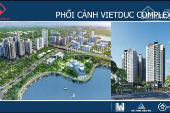 Cho thuê 1000m2 sàn thương mại dự án chung cư Việt Đức Complex số 39 Lê Văn Lương, Hà Nội