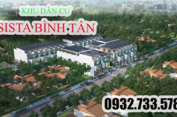 Cơ hội đầu tư sinh lời với dự án KDC Sista Bình Tân sắp mở bán giai đoạn 1, chỉ 36 nền