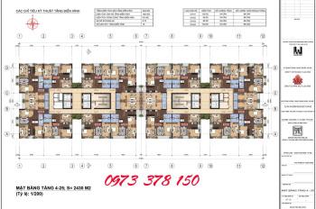 Bán chung cư N01T1 Ngoại Giao Đoàn, diện tích 95 132 133 227m2. LH 0973.378.150
