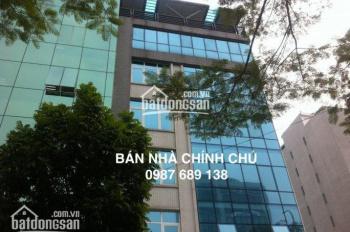 Chính chủ cần bán nhà mặt phố Láng Hạ DT: 110m2 MT 5,2m x 4 tầng kinh doanh tốt, LH: 0966.55.86.56
