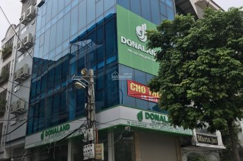 Cho thuê nhà mặt phố Nguyễn Thái Học, DT 200m2, MT 5,5m, 7 tầng, nhà mới xây cực đẹp, có thang máy