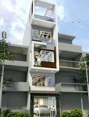Bán nhà MT Bình Quới, P27, Bình Thạnh, 8x25m, CN 200m2, trệt 7 lầu. Giá 38 tỷ TL