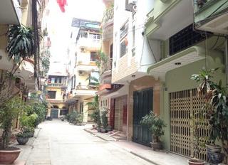 Cho thuê nhà đẹp Phố Huế làm homestay, DT 80m2, 4 tầng, đầy đủ nội thất, 20 tr/tháng