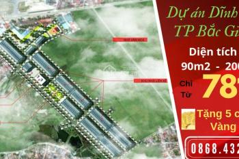 Bán đất dự án Dĩnh Trì, TP Bắc Giang