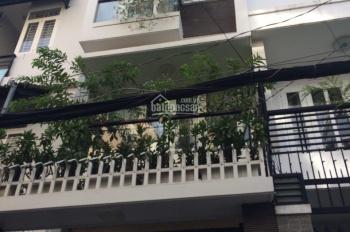 Cho thuê nhà 2 mặt tiền 7,4x14m, 6 lầu Nguyễn Trọng Lội, Phường 4, Quận Tân Bình
