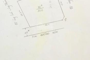 Cần nhượng lại 350m2 đất Phương lưu 1, tuyến 2 ngõ 5m