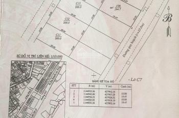 Cần bán đất xây biệt thự hướng đông nam khu dự án Bình Minh (Cống Hộp) P8, TP Vũng Tàu