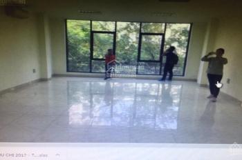 Chỉnh chủ cho thuê văn phòng làm việc mặt phố Duy Tân, DT 60m2, giá 9tr/th. LH 0971993386 (miễn TG)