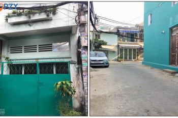 Bán nhà hẻm quận Bình Thạnh, xe hơi đậu trước nhà