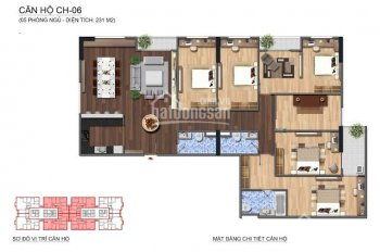 Bán căn hộ penthouse tòa N01T1 khu Ngoại Giao Đoàn, 0904718336