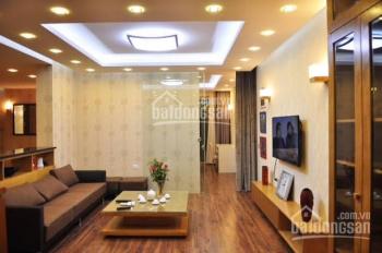 Cho thuê căn hộ 71 Nguyễn Chí Thanh 110 m2, căn góc duy nhất tòa nhà, view 3 hồ