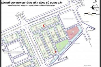 Bán 60m2 đất khu tái định cư Tràng Cát, phường Tràng Cát, Hải An.