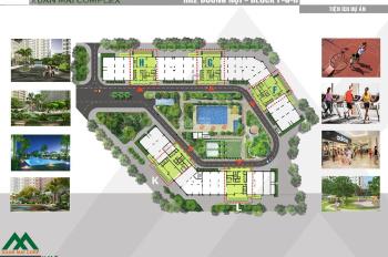 Cần chuyển nhượng CC Xuân Mai Complex, DT 62m2, 2pn, 2wc, giá 15 tr/m2, LH 0973.768.387