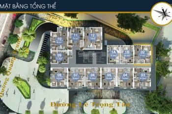 Chính chủ bán căn hộ 2509 (61.39m2), 2PN tại FLC Quang Trung Hà Đông chỉ 1.35 tỷ. 0919130482