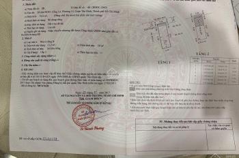 Chính chủ kẹt tiền bán gấp bán nhà đường Cống Lở, phường 15, Tân Bình, giá bán 3 tỷ 450