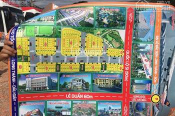 Đất 2 MT Lê Duẩn - QL 51 đón đầu sân bay QT, 80 - 300m2, thổ cư, SHR, giá 1.4tỷ/120m2, 0906.349.031