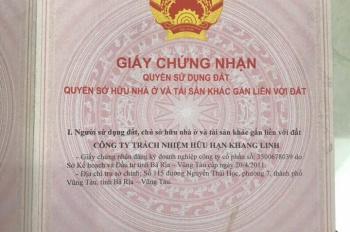 Còn 1 lô đất dự án nhà ở Khang Linh LH: 0983676774