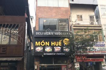 Bán nhà tiện xây Building VP, P Nguyễn Thái Học, Q 1. DT: 8 x 18m - GP 9L - HD 208tr/th - giá 52 tỷ
