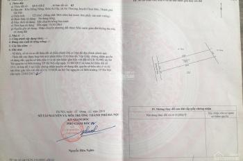 Chính chủ bán đất 50 năm xã An Thượng, Hoài Đức, Hà Nội xây nhà, giá 3 triệu/m2 - 0981474888