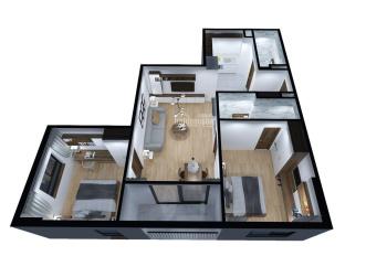 360tr nhận nhà ở ngay sổ hồng vĩnh viễn, căn hộ Hanhomes No08 Giang Biên chiết khấu hấp dẫn