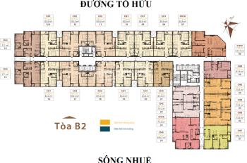 Chính chủ bán gấp CH Roman Plaza, B2-1002 (69.3m2) & B2-1212 (99.5m2), giá 26tr/m2. LH: 0989608597