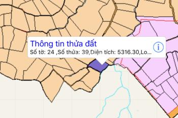 Bán 5300m2 đất vườn Nhân Nghĩa, Cẩm Mỹ, Đồng Nai, giá 250 nghìn/m2