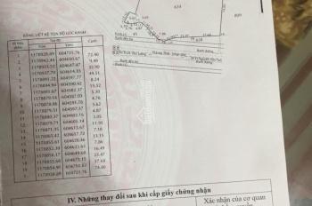 Bán đất mặt tiền đường Long Thới, Nhơn Đức, Nhà Bè, giá 8.5 tr/m2, DT 9600m2. LH 0931961616