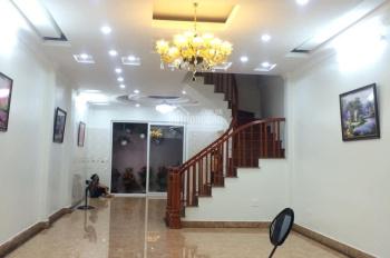Bán nhà mới, gara ô tô, gần phố Kim Ngưu, Hai Bà Trưng, 75m2, 4 tầng, MT 5m, chỉ 7.5 tỷ, 0977635234