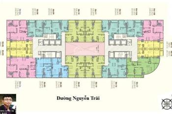 Bán căn góc ĐB-TB , R6-2512B Royal city 115.7m2 giá rẻ 3 phòng ngủ 6.5 tỷ, có TL.  SĐT 0932 338834