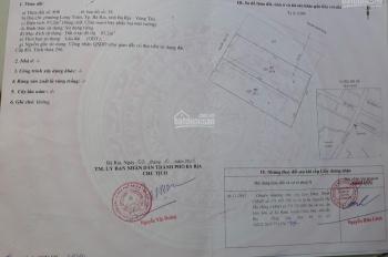 Bán đất mặt tiền đường Nguyễn Văn Cừ, phường Long Toàn thành phố Bà Rịa
