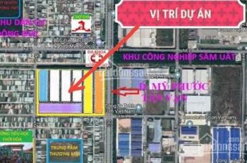 Bán lô đất mặt tiền chợ- KCN Mỹ Phước 3 Bình Dương, liên hệ: 0967.674.879