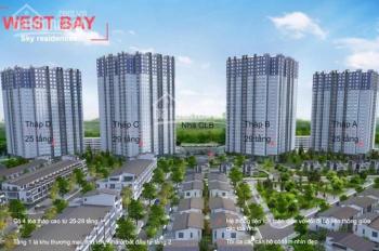 Cần bán gấp căn hộ 50m2 Westbay- Ecopark-Hưng Yên giá 1 tỷ bao phí. LH 0967.007.686