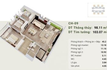 CĐT mở bán  30 căn đẹp nhất toà A view sông Hồng, Bàn giao full nội thất,Tặng Smarthome 85tr