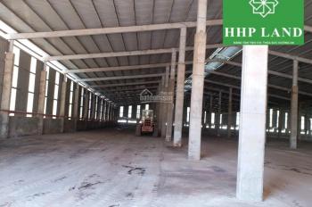 Cho thuê nhà xưởng, DT: 24x90m, 12x90m, cụm CN Thạnh Phú