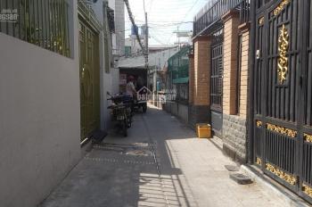 Cho thuê nhà hẻm 107 Phạm Văn Hai, 4,8 x 16m 1 lầu. Giá 11 triệu/th