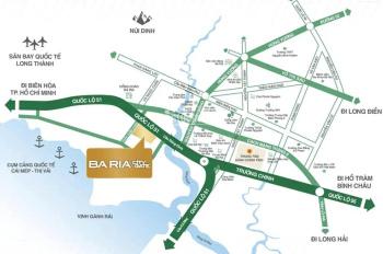 Bà Rịa City Gate, MT QL51 cần tiền bán gấp 1 cặp LK-05, LK-06 thu hồi vốn, 0945 585 508