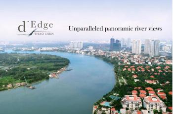 Giỏ hàng 100 CH 5* D'Edge Thảo Điền, cam kết giá tốt nhất TT, giá chỉ từ 65 tr/m2. LH: 0935 459 686