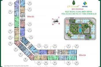 Chính chủ cần bán gấp CH The Emerald, E3-1912 (76m2), E3-1211 (99m2), giá 30tr/m2. LH: O9896O8597