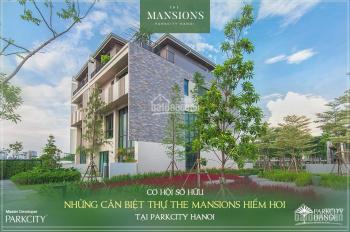 Cần bán 2 căn biệt thự liền kề 4 tầng hướng ĐN còn lại trong ParkCity Hà Nội