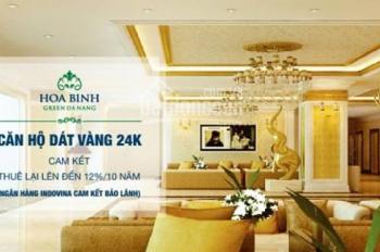 CƠ HỘI CUỐI CÙNG để sở hữu GOLDEN BAY Đà Nẵng (Hòa Bình Green) View Sông Hàn, LH 0905.666.132