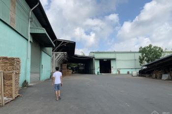 Cho thuê xưởng Tân Phước Khánh, Tân Uyên, 8000m2 xưởng 6500m2 sản xuất gỗ phun sơn ok. Giá 56.03ng
