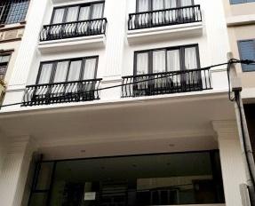 Cần cho thuê nhà MT Hoàng Hoa Thám, Bình Thạnh, ngang 7m, lửng 5 lầu thang máy full NT. Giá 90tr