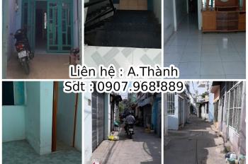 Bán nhà 2m7 x 17m, 1 lầu, Tân Hòa Đông, P14, Q6